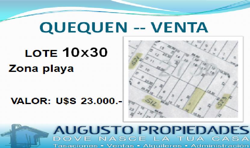 PLAYA QUEQUEN – Augusto Propiedades